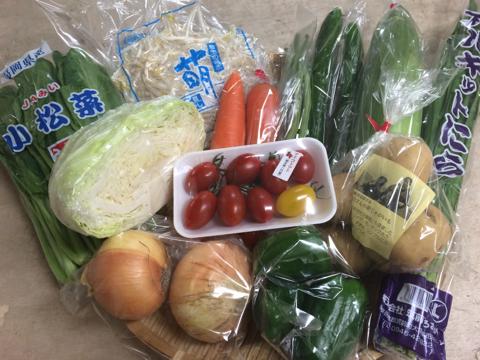 6月30日野菜