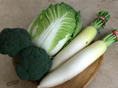 勝人さんのお野菜