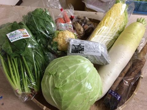 12月3日野菜