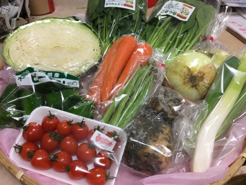 4月25日野菜