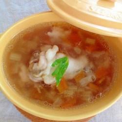 手羽元と野菜のおかずスープ