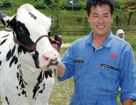 牛乳生産者写真